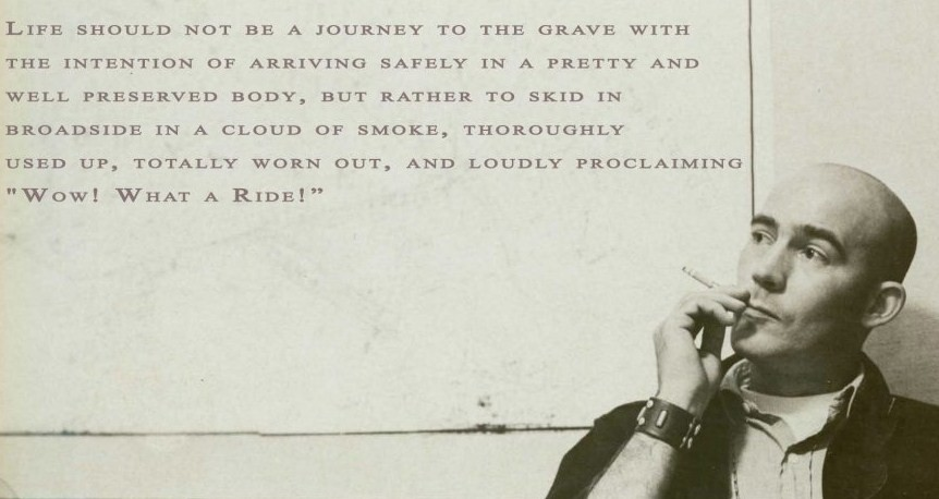 hunter s thompson quotes life